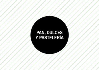 Pan, Dulces, Pastelería